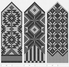 Knitting Patterns Mittens Cufflinks: A Knitting / Knitting Knitting Charts, Knitting Stitches, Knitting Designs, Knitting Patterns Free, Hand Knitting, Knitted Mittens Pattern, Knit Mittens, Fair Isle Chart, Norwegian Knitting