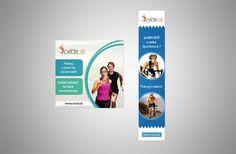 Grafický návrh webových bannerov pre Cvicte.sk