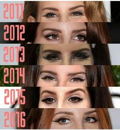 Lana Del Rey through the years #LDR