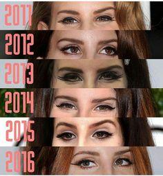 Lana Del Rey through the years #LDR