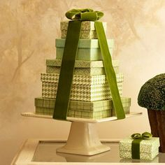 christmas topiarys | Topiary forms and tinsel garland...