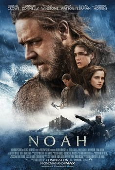 Noah Movie - Learn More on CFDb. With Russell Crowe, Emma Watson   http://www.christianfilmdatabase.com/review/noah/