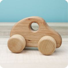 Plastic toys make lots of noise and blinking lights but they leave nothing to the imagination. Well made wooden toys encourage quiet and creative play.