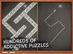 The Impossible Line App by Chillingo Ltd. Puzzle game apps.