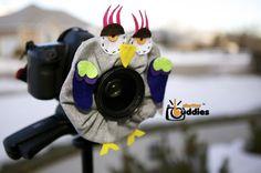 Shutter Buddies Greg Gray OWL with SQUEAKER by shutterbuddies, $23.00