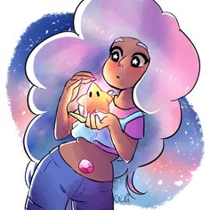 When Steven Universe meets Mario Galaxy Steven Universe Gem, Universe Art, Steven Universe Stevonnie, Favim, Adventure Time, Star Vs The Forces Of Evil, Pusheen, Force Of Evil, Geek Stuff
