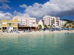 Dutch Capital of Philipsburg, St. Maarten, Netherlands Antilles, Leeward Islands, West Indies