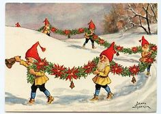 Norwegian Christmas, Scandinavian Christmas, Vintage Christmas Images, Christmas Pictures, Christmas Gnome, Christmas Elf, Beautiful Christmas, Simple Christmas, David The Gnome
