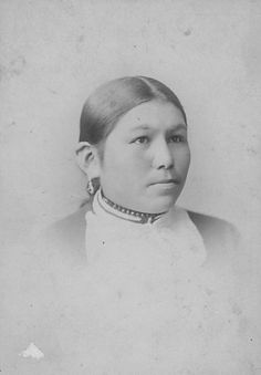 Rose White Thunder (Sioux), Carlisle Indian School by DickinsonLibrary, via Flickr