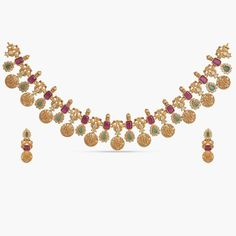 Buy the best Necklace Set Indian Jewelry online from the top Necklace Set manufacturer. Shop Mahika Necklace Set online from the top brand for the best traditional and classy looks. Indian Jewellery Online, Indian Jewellery Design, Indian Jewelry, Jewelry Design, Jewellery Sale, Latest Jewellery, Bridal Jewellery, Diamond Cross Necklaces, Diamond Solitaire Necklace