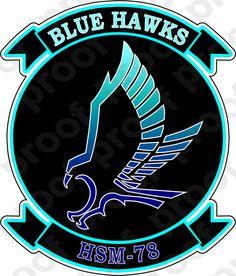 M.C. Graphic Decals - STICKER USN HSM 78 Blue Hawks, $3.00 (http://www.mcgraphicdecals.com/sticker-usn-hsm-78-blue-hawks/)