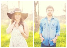 Country Chic Engagement Pictures