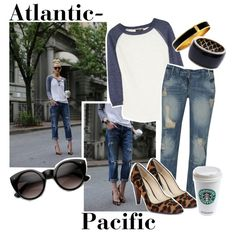 """Blogger Closet: Atlantic-Pacific"" by akgurl12 on Polyvore"