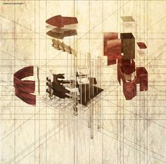 Drawing ARCHITECTURE   Nguyen Manh Hung,Cloud's tempo - Auditorium.