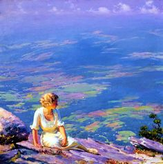 Charles Courtney Curran Sunshine and Haze