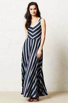 Tamsin Maxi Dress (navy) Anthropologie