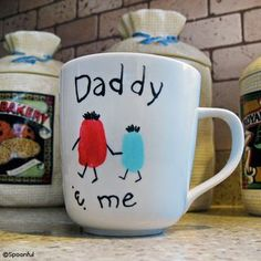 Daddy & Me Coffee Mug from Spoonful