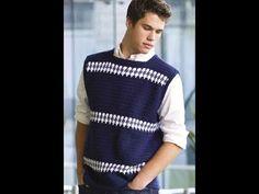 Free English |Crochet Patterns| for |Crochet Sweater| for men 2158