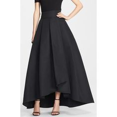 St. John Collection Duchesse Origami Pleat Maxi Skirt -just gorgeous!