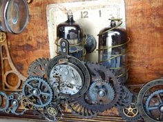 Interior Altered Radio 7gypsies gears and metals