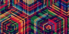 """Conheça alguns trabalhos do artista gráficoSimon C. Page, que explora padrões geométricos, cores e evoca texturas em suas peças visualmente complexas e estimulantes. Como afirma Page, """"no dicionário você verá que a definição do verbo 'excitar' é a de despertar ou atiçar emoções ou sentimentos. Combinar isso com design gráfico e criar trabalhos que genuinamente (...)"""