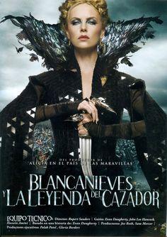 Blanca Nieves y la leyenda del cazador (2012) --El espejo se equivoco , La reina malvada es mas bella que Blancanieves , cosas del tiron de la saga crepusculo