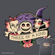 Three of a Kind #film #movie #paulagarcia #thenightmarebeforechristmas