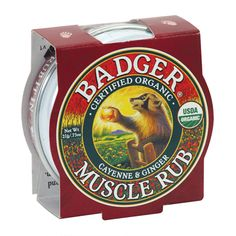 Badger Balm Mini Muscle Rub 21g