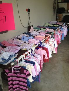 YARD SALE DISPLAY IDEAS: clothing craft fair booths - Google Search