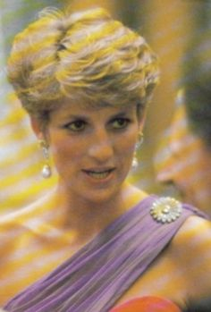 Princess Diana In Thailand on Tour