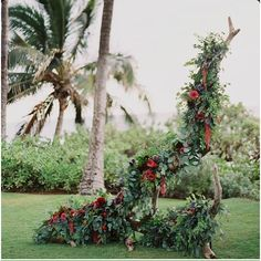 Beautiful blooms on a tree branch makes for a stunning ceremony backdrop.. Pic credit #Pinterest #wedding #weddingdecor #weddinginspo #weddinginspiration #weddingceremony #weddingreception #eventstyle #eventstyling #weddingbackdrops #backdrops