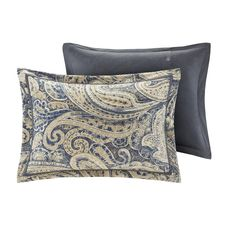 Hampton Hill Urban Chic King Size Bed Comforter Duvet Set Bed In A Bag Navy Gold Paisley – 9 Piece Bedding Ideas Sets – Cotton Bedroom Comforters *** Check out the image by visiting the link-affiliate link. Classic Bedding Sets, Online Bedding Stores, Bed In A Bag, Queen Comforter Sets, Paisley Design, Paisley Pattern, Navy Gold, Urban Chic, Mens Gift Sets