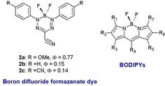 Efficient electrochemiluminescence of a readily accessible boron difluoride formazanate dye