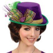 Deluxe Mardi Gras Top Hat