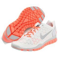 Nike - Free TR Fit 2 (Metallic Summit White/Bright Mango/Pure Platinum) - Footwear | www.grabevery.com