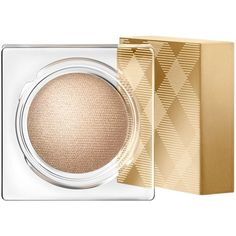Burberry Eye Color Cream, Festive Look (3270 RSD) ❤ liked on Polyvore featuring beauty products, makeup, eye makeup, eyeshadow, beauty, косметика, accessories, festive gold, burberry and burberry eyeshadow
