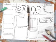 26 Bullet Journal Monthly Layouts That Will Inspire You – Bullet Journal 101