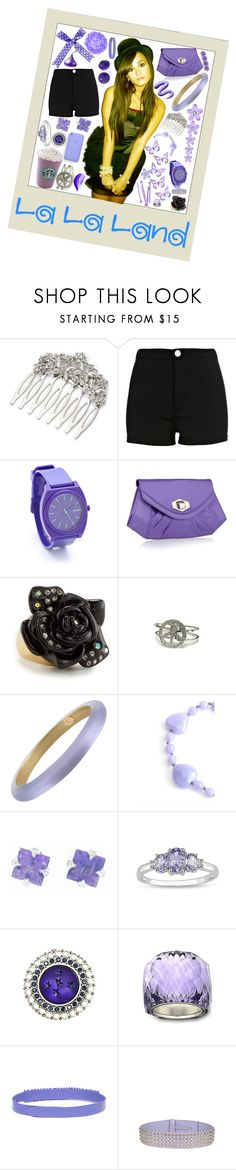 """Demi Lovato"" by loveislikeasong ❤ liked on Polyvore featuring Katie, Monsoon, River Island, Nixon, Star by Julien Macdonald, Juicy Couture, Kate Spade, Alexis Bittar, Lola Rose and Cathy Waterman"