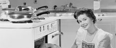 """What if being an """"evolved"""" version of the 1950s housewife is by choice? When someone willingly assumes the role of pleasing one's man as her daily modus operandi, does that make her subservient or just plain wise?"""