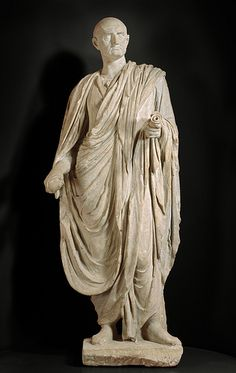 2nd century statue of Cicero from Ashmolean Museum