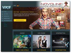 #Novoline Fans finden mit der VIKS #Spielothek eine weitere neue Anlaufstelle für die Novomatic Hits vor. Seit Anfang Juni bietet das Portal rund 90 Slots der österreichischen Spielo-Kultmarke an, u.a. die Hits wie Book of Ra, Sizzling Hot, Faust und Lucky Lady's Charm. Zudem steht Spielern in Deutschland PayPal als Zahlungsmethode zur Verfügung. Alle Infos zur neuen VIKS Novoline Spielothek hier:  http://www.novolineonlinespielothek.com/novoline-casinos/viks-casino-test/