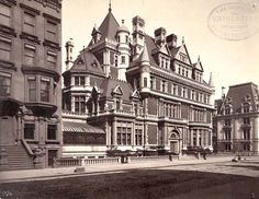 The Cornelius Vanderbilt II Mansion on 57th Street and 5th Avenue, now demolished    New York City's Fifth Avenue has always been pretty special, althoughyou'd probably never guess that it began with a rather ordinary and functional name: Middle Road. Like the 1811 Commissioner'sPlan for Manhattan,whichlaid out the c