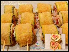 Sweet Salad Recipe, Appetizer Recipes, Appetizers, Brunch, Fast And Slow, Best Chicken Recipes, Prosciutto Cotto, Antipasto, Fett