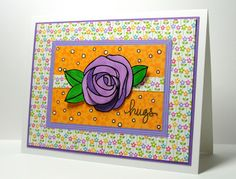 Created by Barb for the Simon Says Stamp Card Drive for Maddy. June 2013