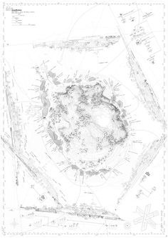 pfc elena iglesias rodríguez /// E.T.S.A.M. /// kastellholmen *fundación nobel* MUY MUY MUY BONITO. Landscape Architecture Drawing, Architecture Panel, Architecture Graphics, Landscape Plans, Landscape Drawings, Map Diagram, Urban Analysis, Site Plans, Photoshop