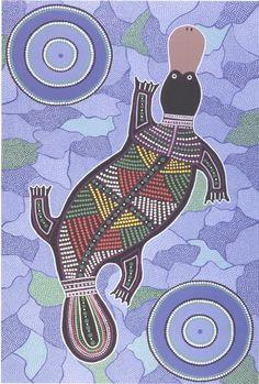 Platypus | Australian Aboriginal art