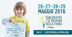 """Io con @Anter_Italia nelle piazze italiane al grido di""""Salviamo il respiro della Terra"""" #salviamoilrespirodellaterra"""