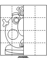 coloring sheets for EMOTIONS with the glad monster, sad monster book!