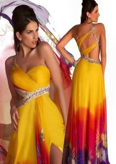 Gorgeous prom gowns featuring sequins and beads, elegant lace, romantic florals, and daring styles. Discover why Mac Duggal designs are the dream dresses of so many girls Bridesmaid Dresses, Prom Dresses, Dress Prom, Long Dresses, Social Dresses, Prom Dress Shopping, Frack, Dance Dresses, Yellow Dress