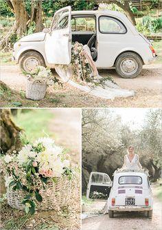 wedding car decorations @weddingchicks